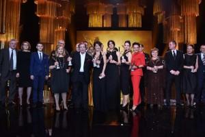 Foto: Mateusz Jagielski / East News Warszawa 07.03.2016 Gala rozdania Polskich Nagrod Filmowych ORLY 2016N/z: laureaci